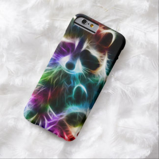 RAINBOW RACCOON. BARELY THERE iPhone 6 CASE