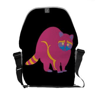 Rainbow Raccoon Commuter Bags