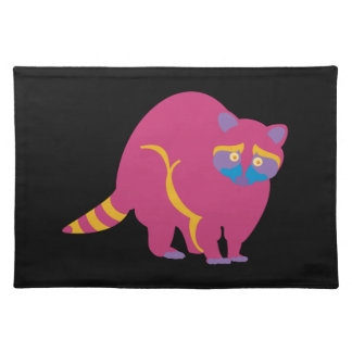 Rainbow Raccoon Placemat