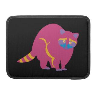 Rainbow Raccoon Sleeve For MacBooks