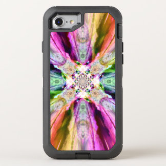 Rainbow Rays  Otter Box Iphone 7 OtterBox Defender iPhone 7 Case