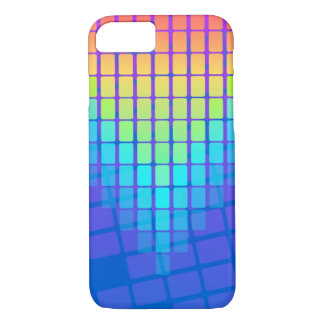 Rainbow Rectangles Pattern iPhone 7 Case