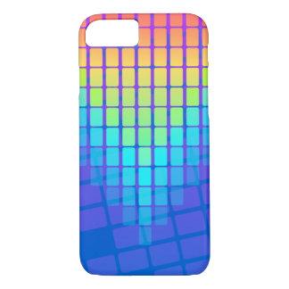 Rainbow Rectangles Pattern iPhone 8/7 Case