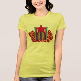 Rainbow Red Star T-shirt
