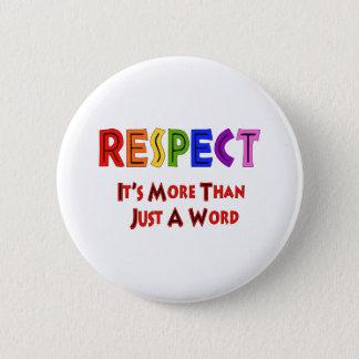 Rainbow Respect 2 Inch Round Button