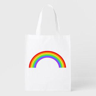 Rainbow Reusable Grocery Bag