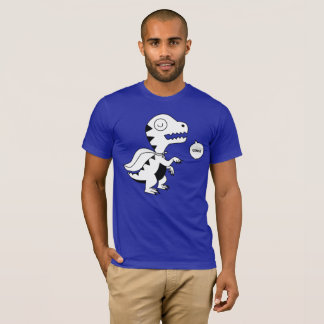 Rainbow Rex Grrr B&W T-Shirt