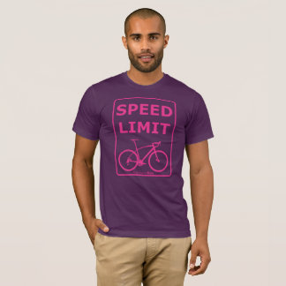 Rainbow Rex Speed Limit: Pink T-Shirt