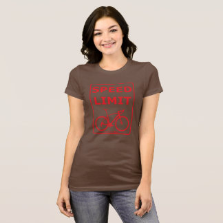 Rainbow Rex Speed Limit: Red T-Shirt
