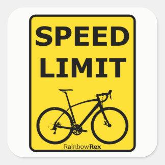 Rainbow Rex Speed Limit Sticker