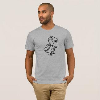 Rainbow Rex Tee: Blk T-Shirt