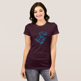 Rainbow Rex Tee: Blue T-Shirt