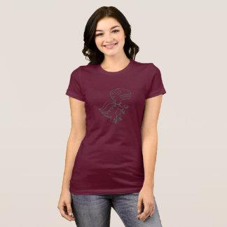 Rainbow Rex Tee: Grey T-Shirt