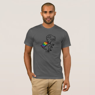 Rainbow Rex Tee: Rainbow T-Shirt