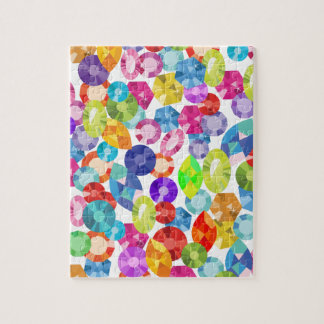 rainbow rhinestones puzzle