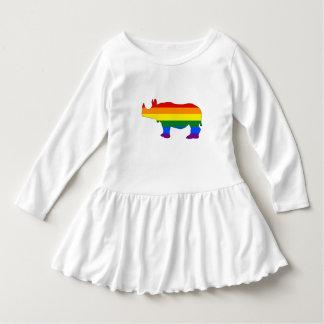 Rainbow Rhinoceros Dress
