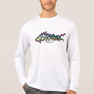 Rainbow Ribbon Ally L/S Shirt