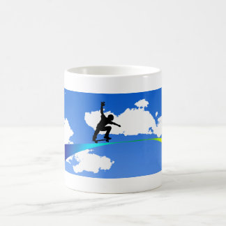 Rainbow Rider Coffee Mug