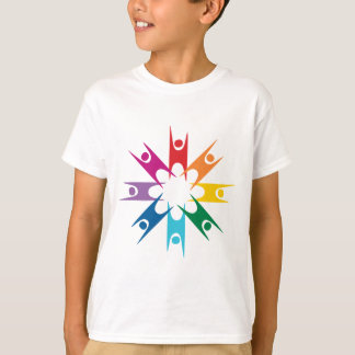 Rainbow Ring of Humanists T-shirt