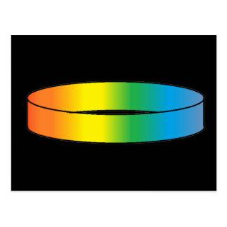 Rainbow Ring Postcard