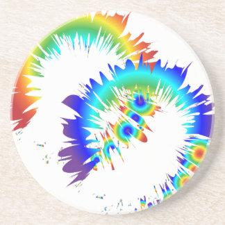 rainbow rings coaster