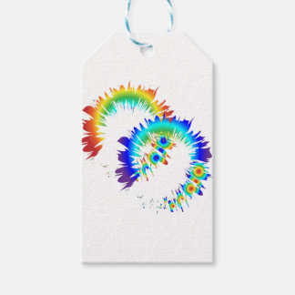 rainbow rings gift tags