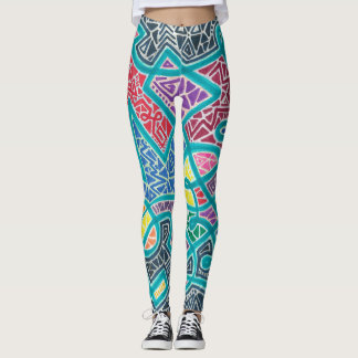 Rainbow Road Leggings
