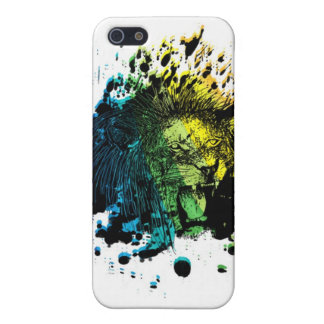 Rainbow Roaring Lion Case For The iPhone 5