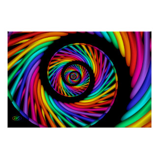 Rainbow Roll Posters