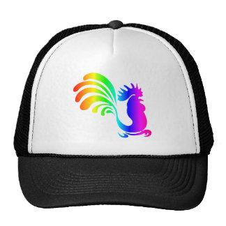 Rainbow Rooster #2 Trucker Hat