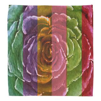 Rainbow Rose Bandana