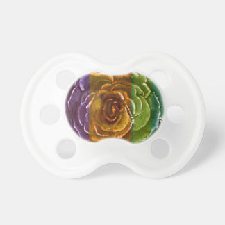 Rainbow Rose Binky Pacifier