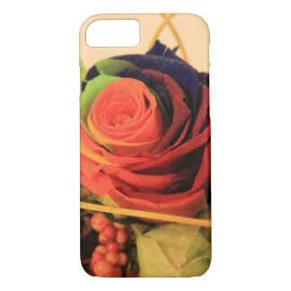 Rainbow Rose iPhone 7 Case
