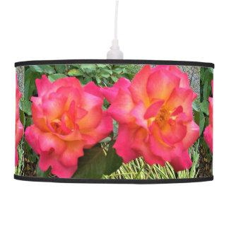 Rainbow Rose Pendant Lamp
