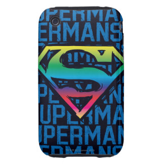 Rainbow S-Shield iPhone 3 Tough Cover