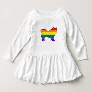 Rainbow Samoyed Dress