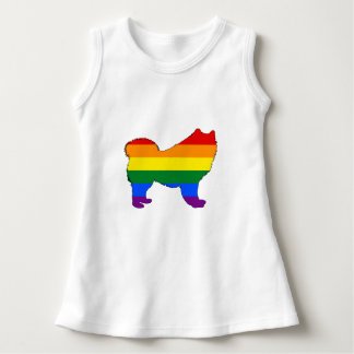 Rainbow Samoyed Dress