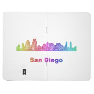 Rainbow San Diego skyline Journals
