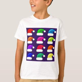 Rainbow Santa Hat Tshirts