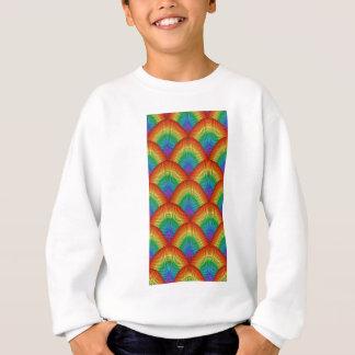 rainbow scales sweatshirt