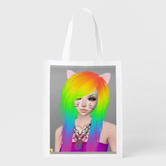 Rainbow Scene Queen budget tote