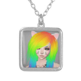 Rainbow Scene Queen necklace