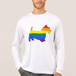 Rainbow Scottish Terrier T-Shirt