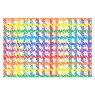 Rainbow Scratch Tissue Paper