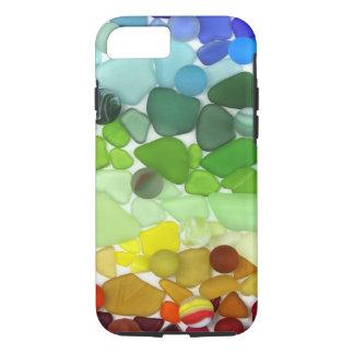 Rainbow Sea Glass iPhone 8/7 Case