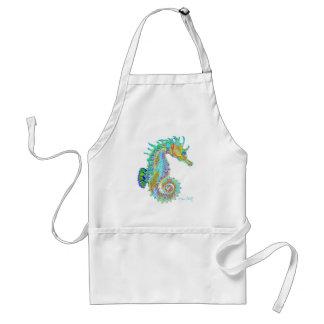 Rainbow Seahorse apron