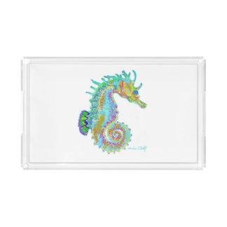 Rainbow Seahorse Serving Tray