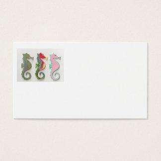 RAINBOW SEAHORSES BUSINESS CARD