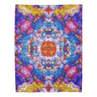Rainbow Seeds Duvet Cover