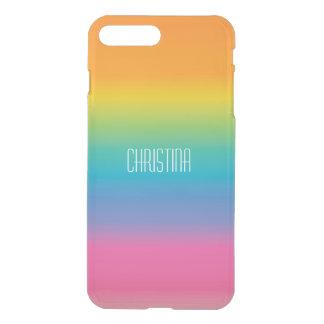 Rainbow Shade Gradient iPhone 8 Plus/7 Plus Case